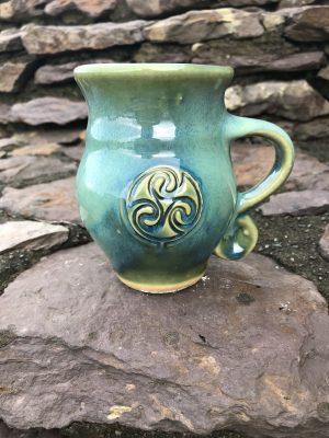 Colm De Ris Green Belly Mug A2