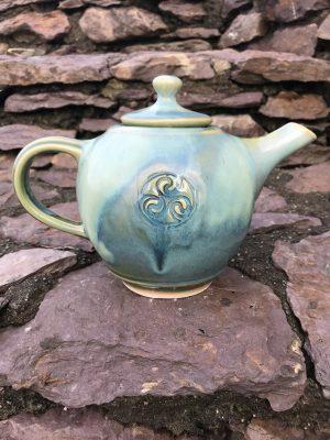 Colm De Ris Green Breakfast Tea Pot
