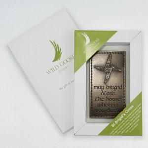 Wild Goose St Brigid's Cross Plaque