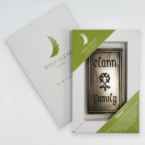 Wild Goose Clan Family Plaque
