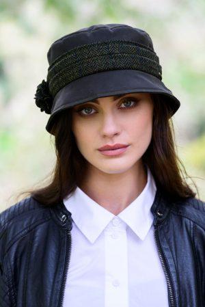 Green Kate Wax Hat Mucros