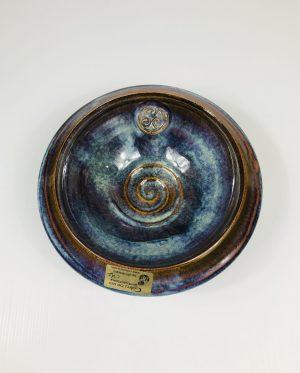 Colm De Ris Blue Medium Standard Bowl D3