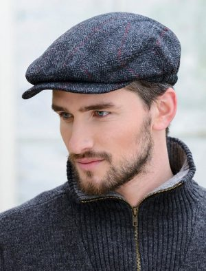 Mucros Charcoal Kerry Cap