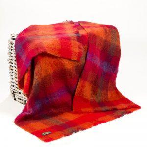 Large Irish Mohair Blanket John Hanly 509