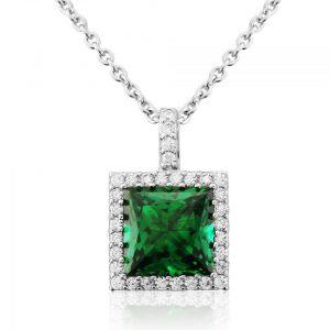 Waterford Jewellery Emerald Pendant