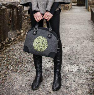Celtic Tweed Bag by Mucros Weavers