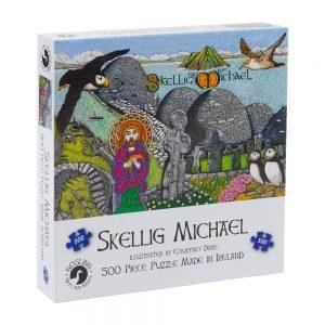Skellig Michael Celtic Legend Jigsaw Puzzle