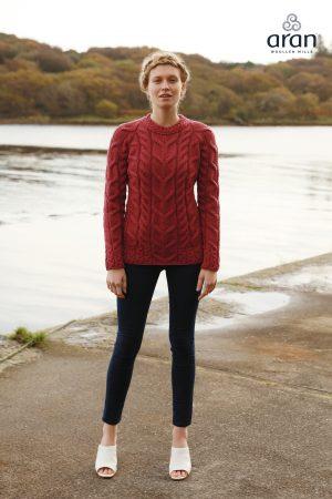 Aran Woollen Mills Jam Raglan Sweater