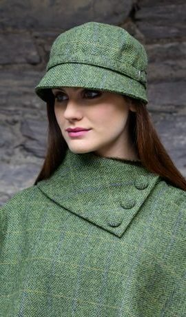 Mucros Green Flapper Hat 51
