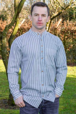 Traditional Irish Heavyweight Grandfather Shirt