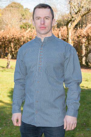 Irish Heavyweight Grandfather Blue Shirt