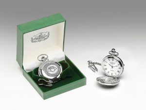 Mullingar Pewter Claddagh Pocket Watch