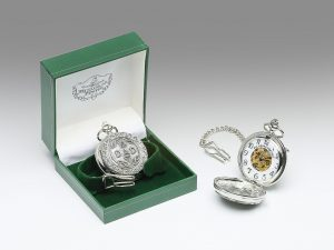 Mullingar Pewter Dad Mechanical Pocket Watch