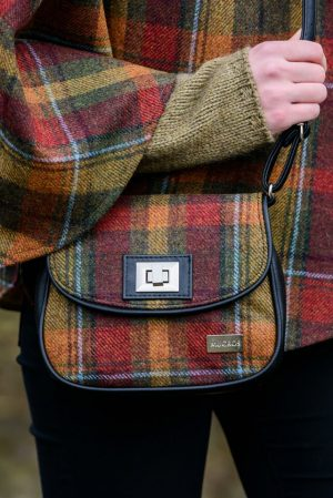 Mucros Rust Check Sarah Bag