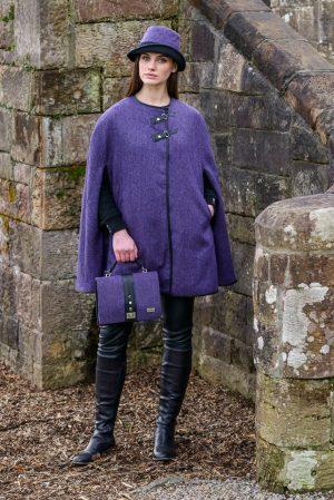Mucros Purple Fiona Bag