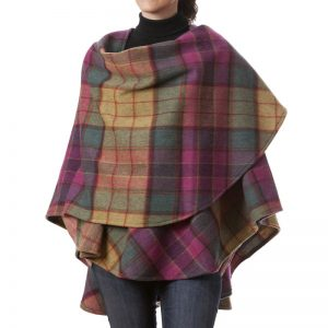 John Hanly Lambswool Sue Shawl Cape