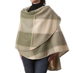 John Hanly Lambswool Sue Cape 647