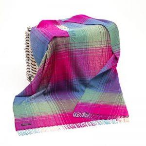 John Hanly Pink Cashmere Blanket