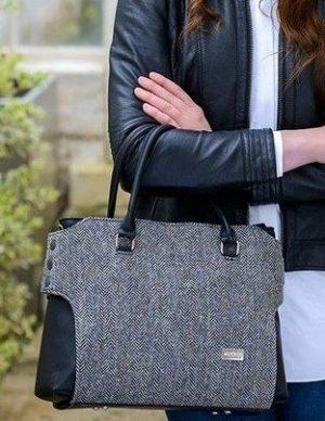 Mucros Weavers Gray Emily bag