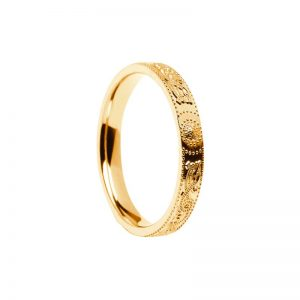 Ladies Celtic Warrior Ring 14k Gold