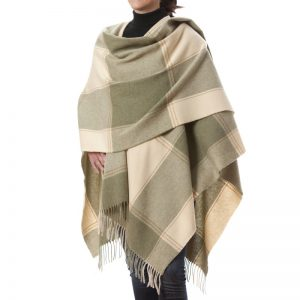 John Hanly Lambswool Liz Cape