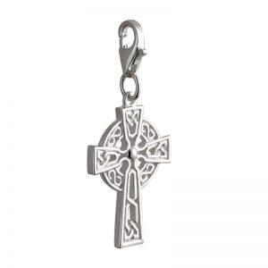 Irish Celtic Cross Charm Trinity Knot