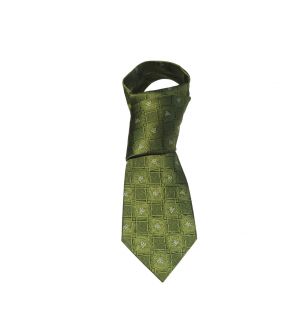 gents green silk tie patrick francis pf2002
