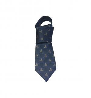 gents navy blue silk tie patrick francis pf2000