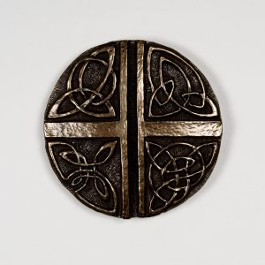 Celtic Love Cross Wall Art