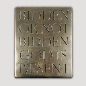 Wild Goose Bidden Or Not Bidden, God Is Present'