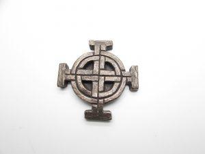 Wild Goose Bronze Celtic Cross
