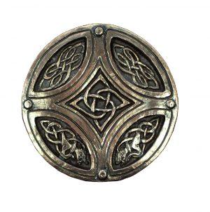 Wild Goose Bronze Celtic Circle Cross