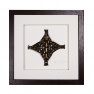 Wild Goose Woven Together Bronze Wall Hanging