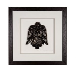 Wild Goose Guardian Angel Bronze Plaque