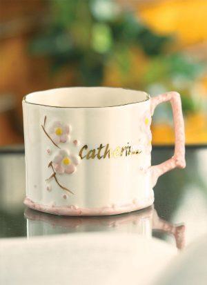 Belleek Personalized Baby Girl Mug