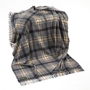 Lambswool Irish Blanket John Hanly 661