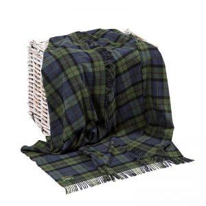 Lambswool Irish Blanket John Hanly 625