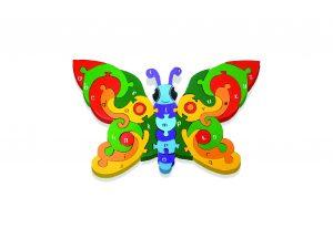 Butterfly Irish Jigsaw Puzzle