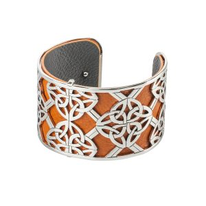 Solvar Celtic Bangle Trinity Knot
