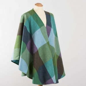 John Hanly Lambswool Irish Sue Cape - 646