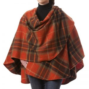 John Hanly Lambswool Sue Cape - 633