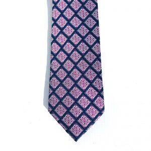 Book of Kells Purple Silk Tie bk2006