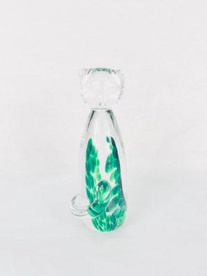The Irish Glass Company Glass Cat