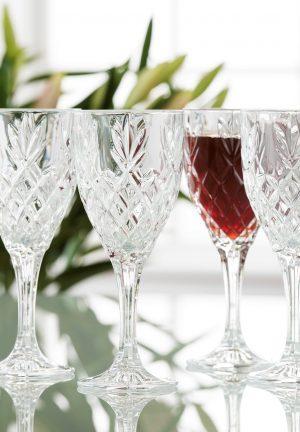 Galway Irish Crystal Renmore Wine Glasses