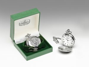 Mullingar Pewter Irish Pocket Watch