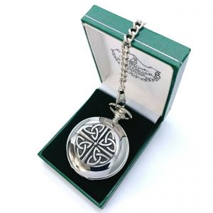 Mullingar Pewter Pocket Watch - Trinity
