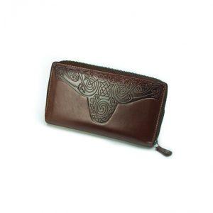 Lee River Roisín Brown Ladies Celtic Wallet