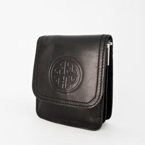 Lee River Black Morrigan Celtic Shoulder Bag