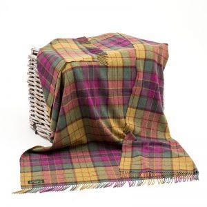 Lambswool Irish Blanket John Hanly 654