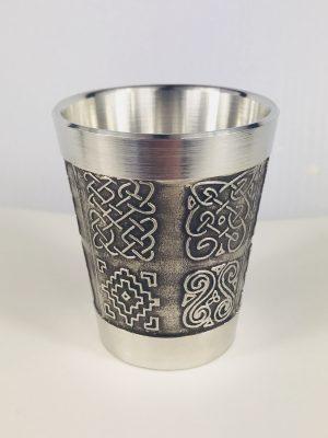 Mullingar Pewter Celtic Design Beaker